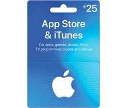 £25 iTunes Card