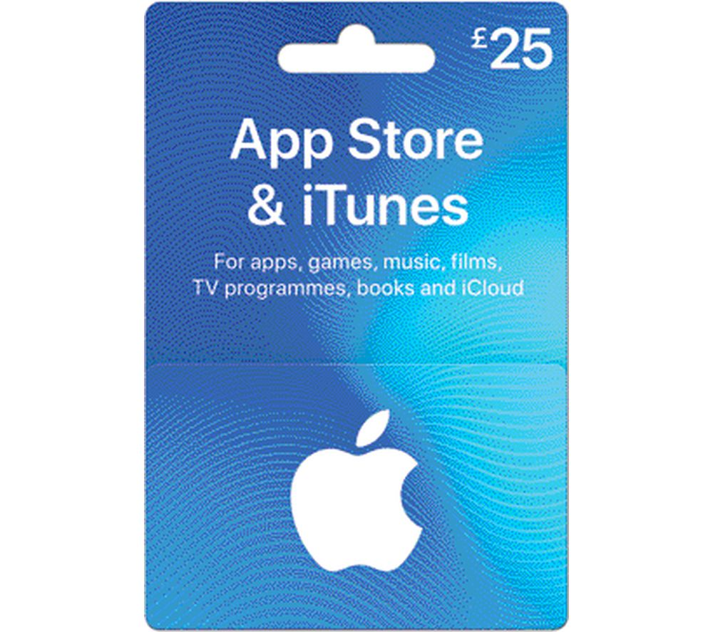 Buy ITUNES £25 ITunes Card