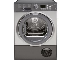 HOTPOINT Aquarius FTCF87BGG Condenser Tumble Dryer - Graphite