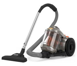 VAX Power 4 Base C85-P4-Be Cylinder Bagless Vacuum Cleaner - Graphite, Orange & Black