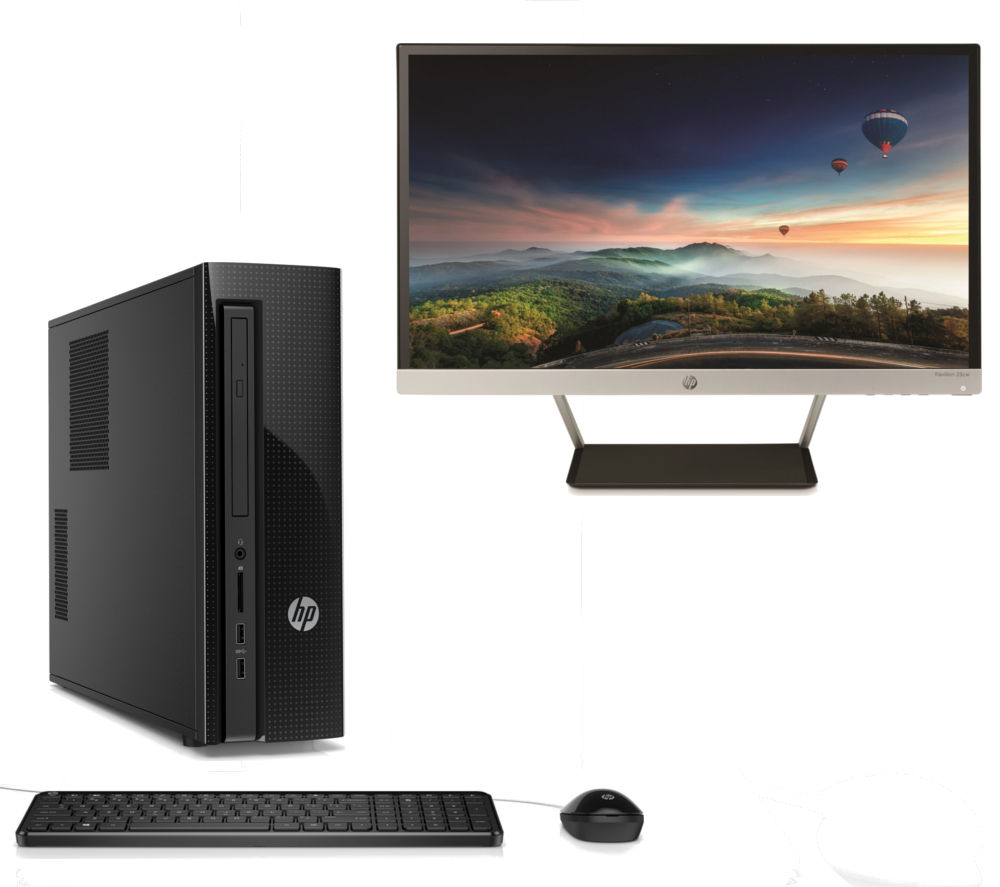 HP Slimline 450 Desktop PC & Monitor Bundle Deals | PC World