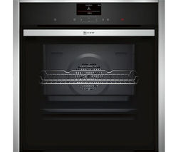 NEFF B57CS24N0B Slide & Hide Electric Oven - Stainless Steel