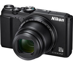 NIKON COOLPIX A900 Superzoom Compact Camera - Black