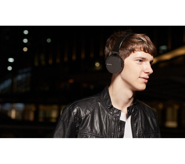 Sony mdr xb650bt wireless bluetooth headphones black deals pc world - Tv und mediamobel ...