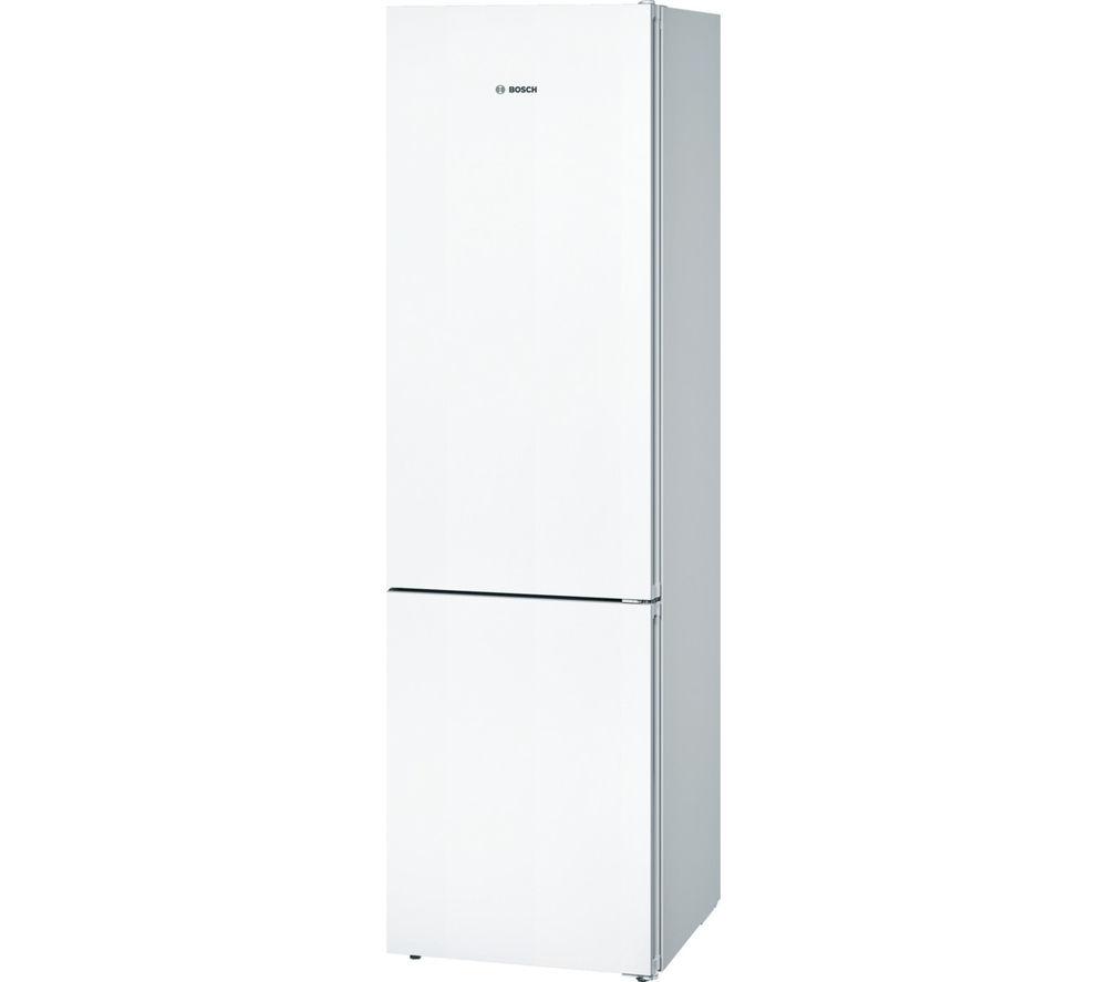 Image of BOSCH Serie 4 KGN39VW35G Fridge Freezer - White, White