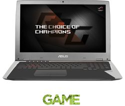 "ASUS Republic of Gamers GX700 17.3"" Gaming Laptop - Silver"