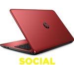 """HP 15-ba079sa 15.6"""" Laptop - Red"""