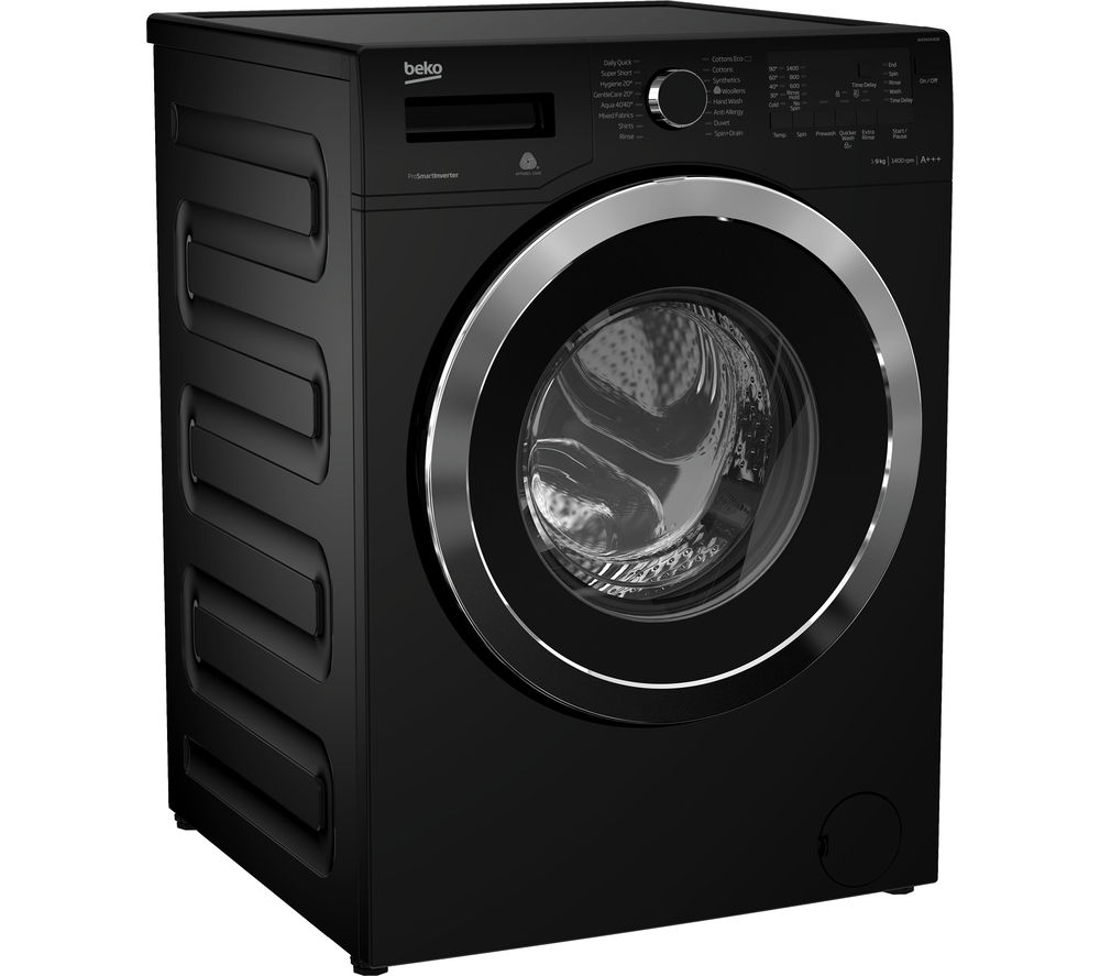BEKO  WX943440B Washing Machine  Black Black