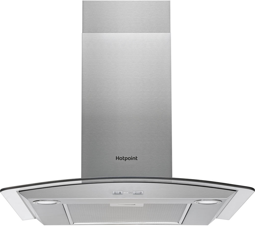 HOTPOINT  PHGC7.5FABX Chimney Cooker Hood  Stainless Steel Stainless Steel