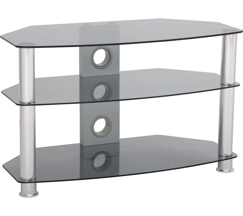 how to hide wires on glass tv stand