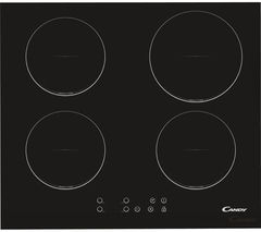 CANDY CI640C Electric Induction Hob - Black