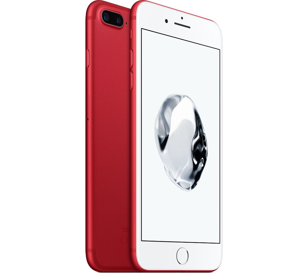 APPLE iPhone 7 Plus  128 GB Red Red