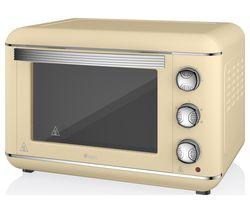 SWAN Retro SF37010CN Electric Oven - Cream