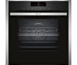 NEFF B48FT78N0B Slide & Hide Electric Steam Oven - Stainless Steel