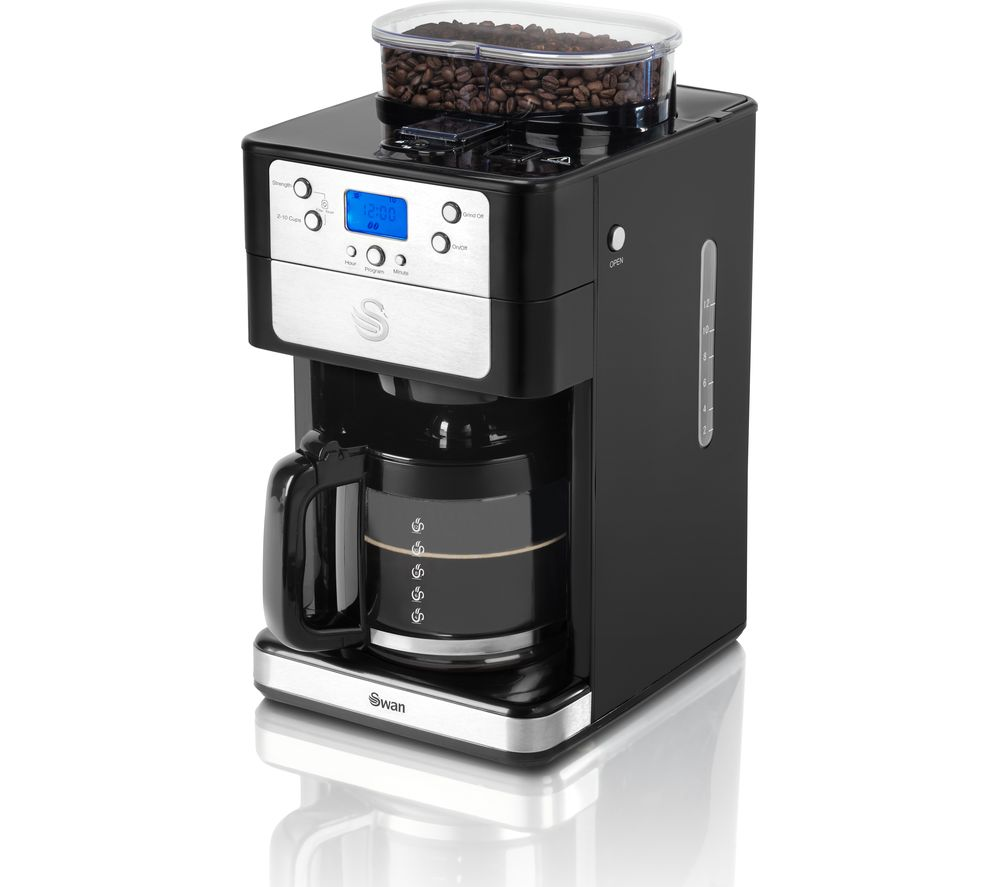 Buy SWAN SK32020N Filter Coffee Machine - Black Free Delivery Currys