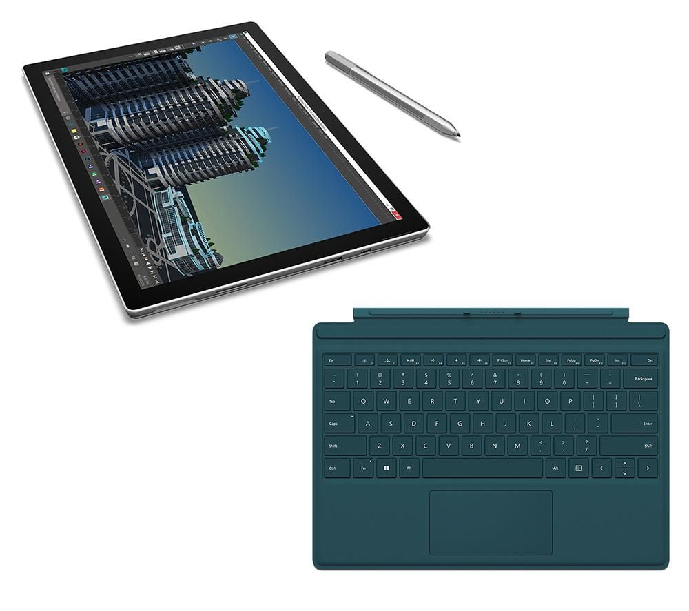 MICROSOFT Surface Pro 4 (1 TB) & Typecover Bundle
