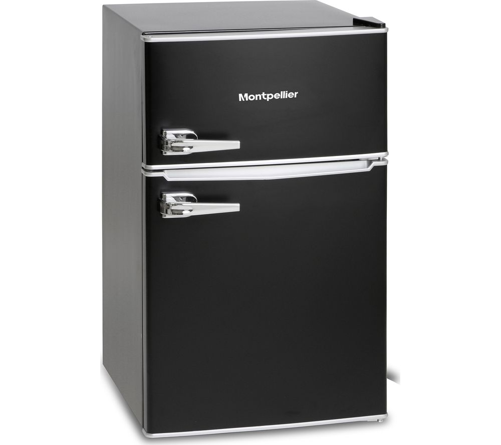 Under counter fridge black