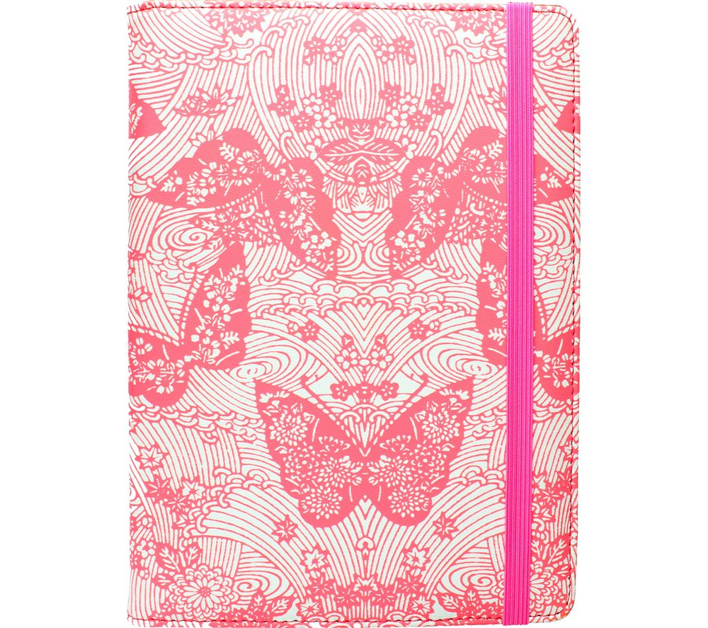 """Image of ACCESSORIZE Neon Butterfly 8"""" Tablet Case - Pink, Pink"""