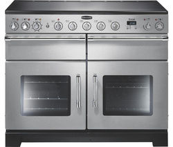 RANGEMASTER Excel 110 Electric Induction Range Cooker - Stainless Steel