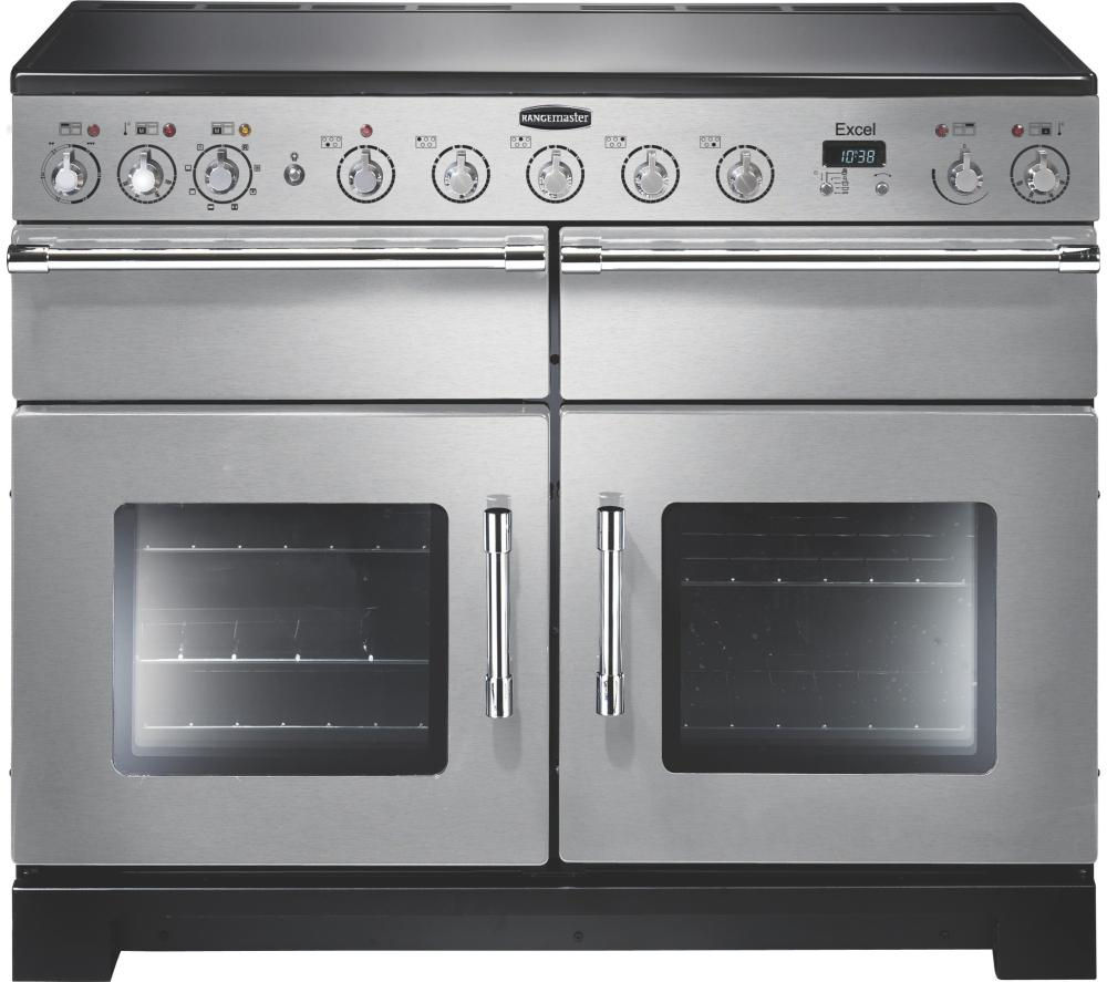 Stainless steel electric range cooker