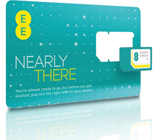 Pay As You Go 4G Combi SIM