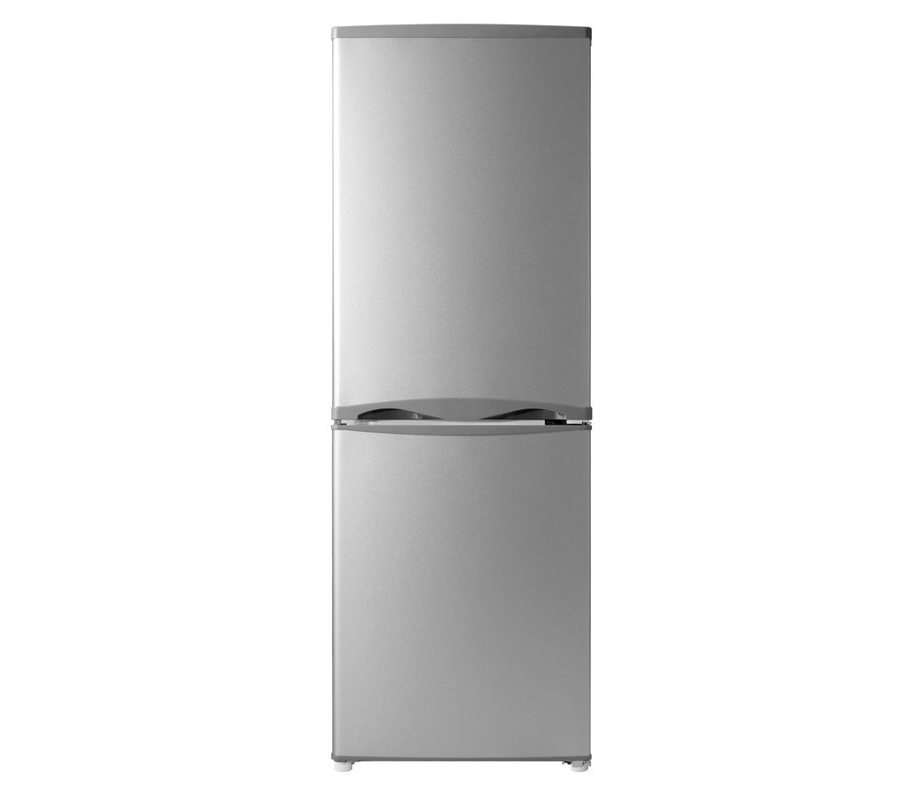 ESSENTIALS C50BS14 Fridge Freezer - Silver