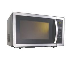 Kenwood K25MSS11 Solo Stainless Steel Microwave Oven (Black & Stainless Steel)