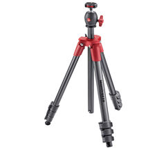 MANFROTTO Compact Light Red Tripod