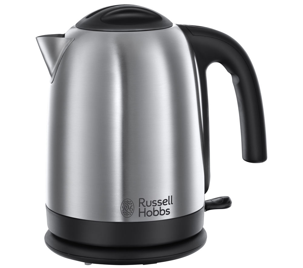 buy russell hobbs cambridge 20070 jug kettle stainless steel buckingham 4 slice toaster. Black Bedroom Furniture Sets. Home Design Ideas