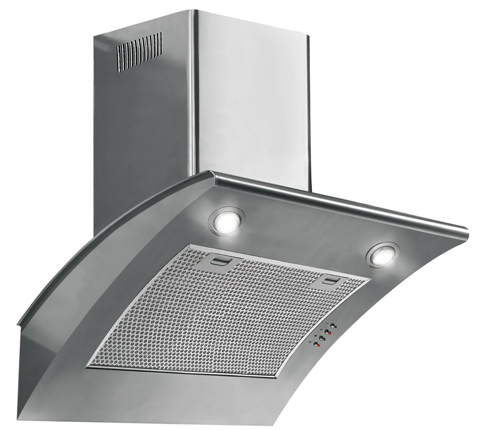 Cooker Hoods Stainless Steel ~ Baumatic btc ss chimney cooker hood stainless steel