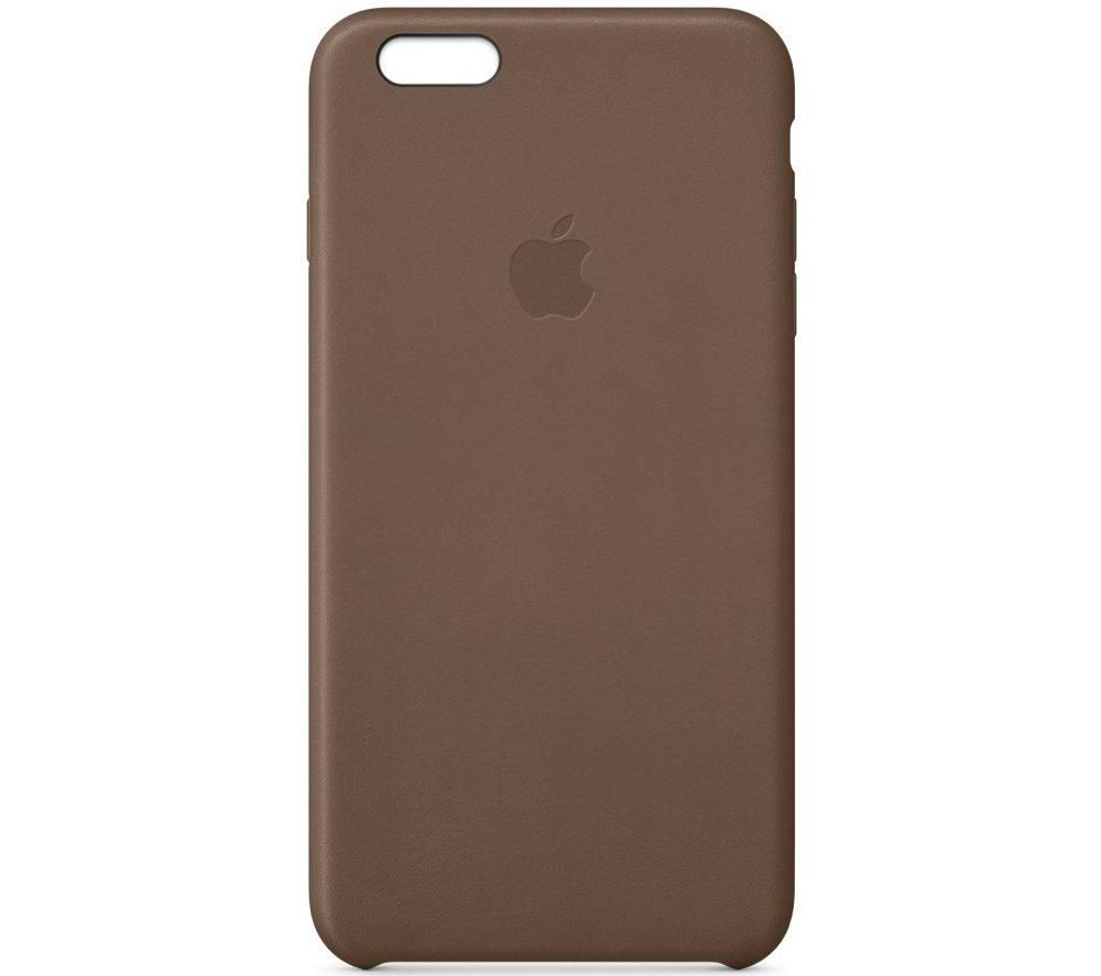 APPLE Leather iPhone 6 Plus Case - Brown