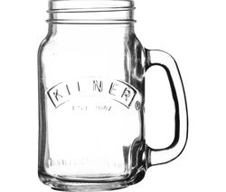 KILNER Handled Drinking Jar - Clear