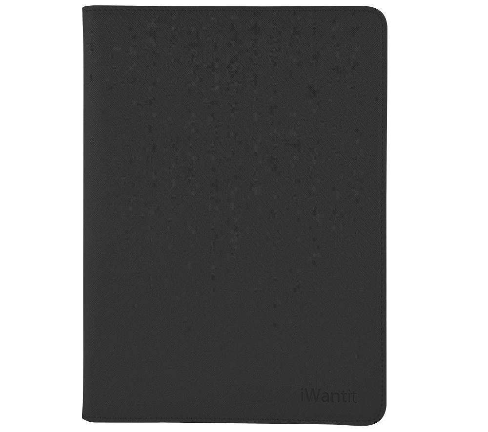 IWANTIT iPad Mini 4 Folio Case - Black