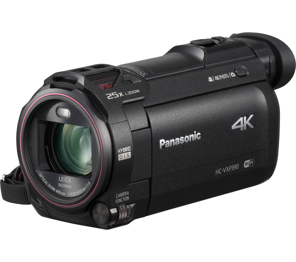 Image of PANASONIC HC-VXF990EBK Traditional Camcorder - Black, Black