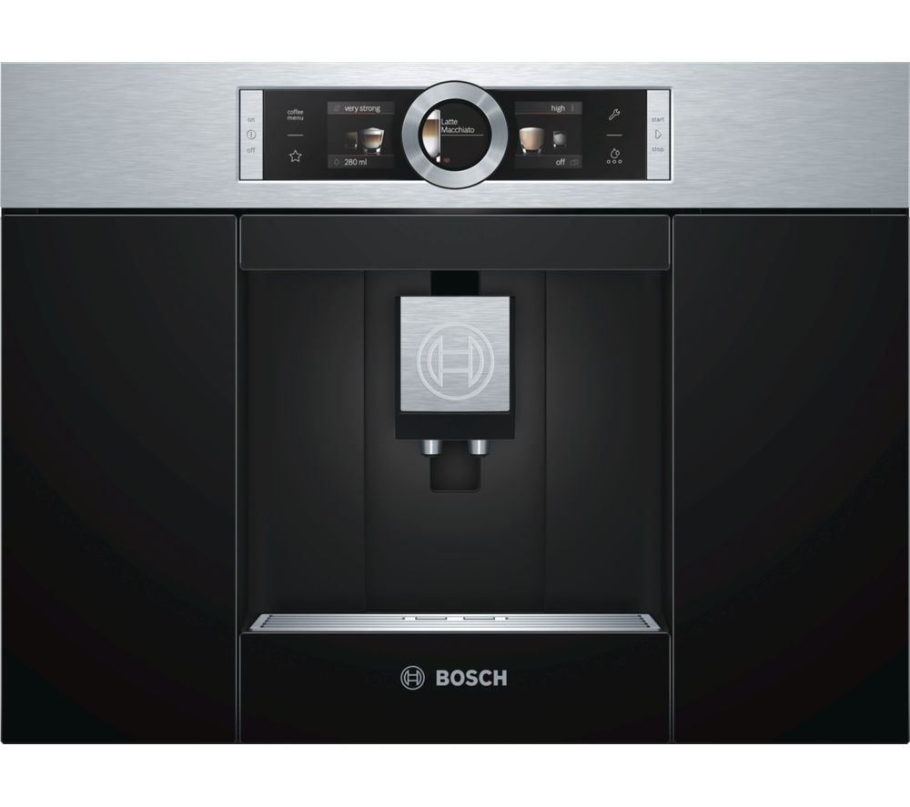 Buy Bosch Ctl636es1 Built In Bean To Cup Coffee Machine