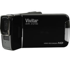 VIVITAR DVR2121 Traditional Camcorder - Black