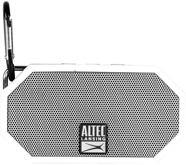 Image of ALTEC LANSING Mini H20 II Portable Wireless Speaker - White
