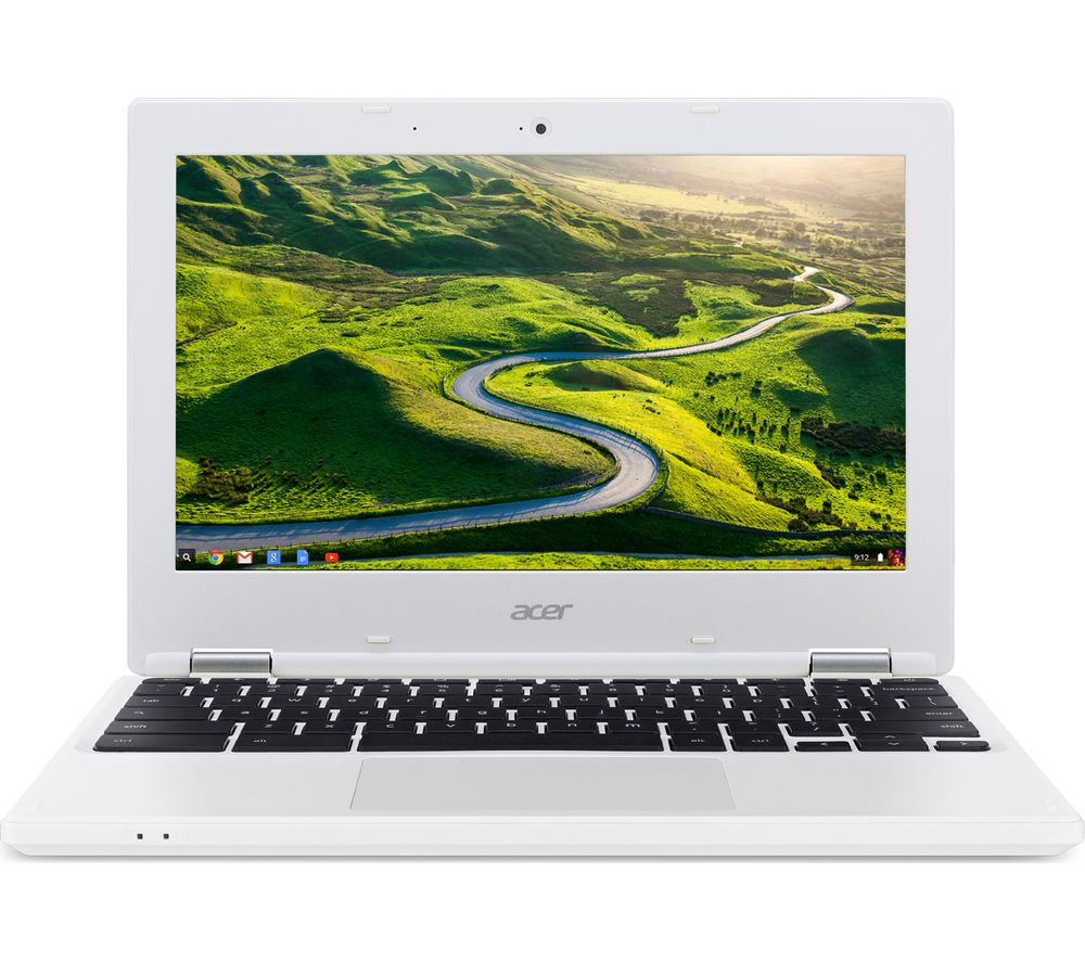 "ACER CB3-131 11.6"" Chromebook - White + Cloud Storage for Tablets & Mobiles - 200 GB, 1 year"