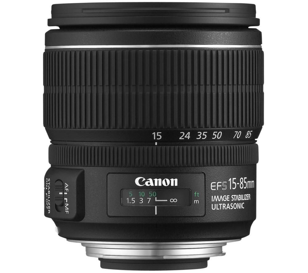CANON EF-S 15-85 mm f/3.5-5.6 IS USM Standard Zoom Lens