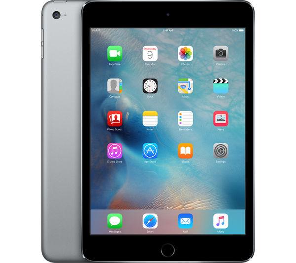 An image of APPLE iPad mini 4 - 32 GB, Space Grey