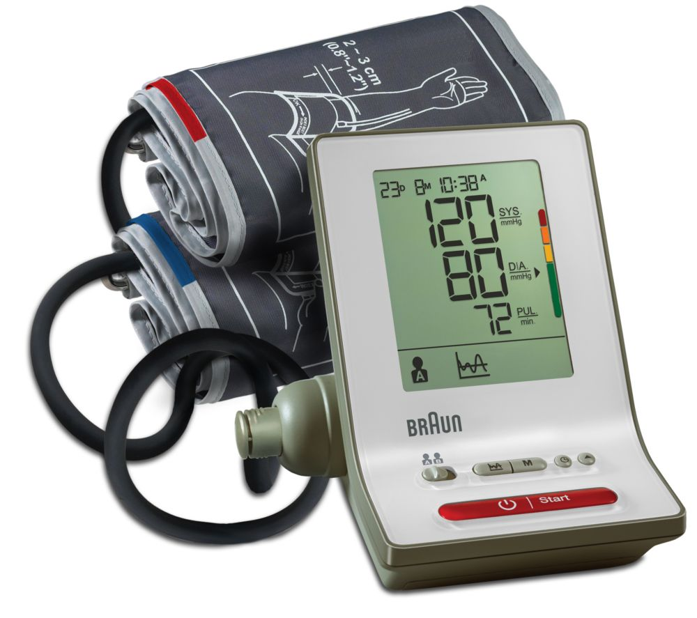 Image of BRAUN ExactFit 3 BP6000 Upper Arm Blood Pressure Monitor, Braun