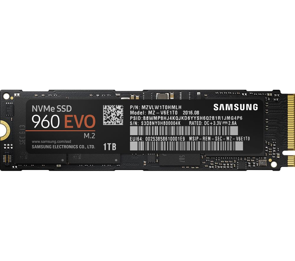 SAMSUNG 960 Evo Internal SSD - 1 TB