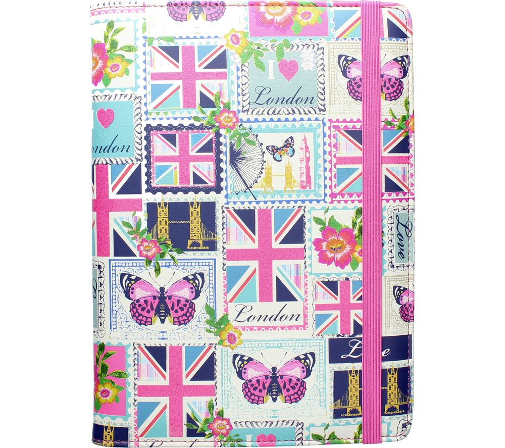 """Image of ACCESSORIZE Love London 8"""" Tablet Case"""