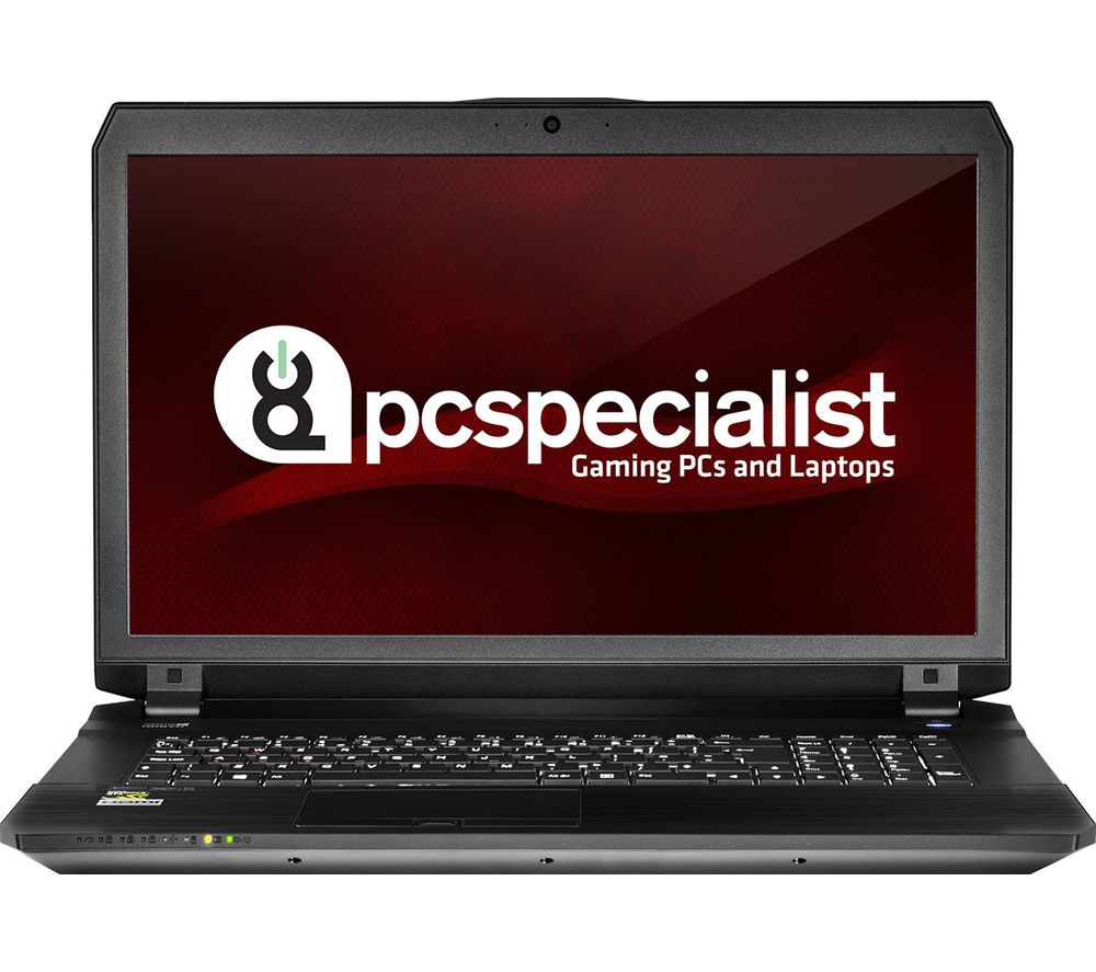 "PC SPECIALIST Defiance III RS17-VR 17.3"" Gaming Laptop - Black + Office 365 Home + LiveSafe Unlimited 2017 - 1 year"