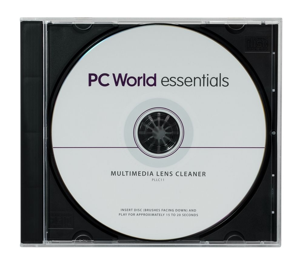 ESSENTIALS  Multimedia Laser Lens Cleaner.