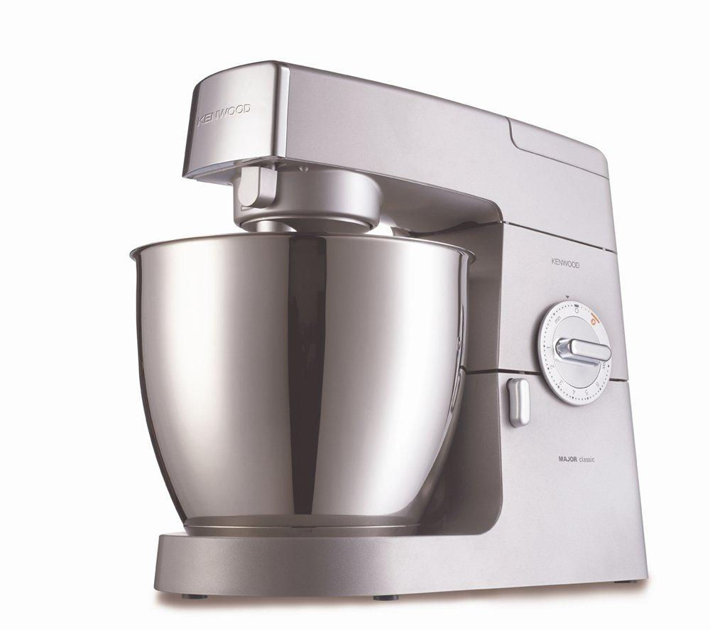 Kenwood KM631 Classic Major Kitchen Machine - Silver, Silver