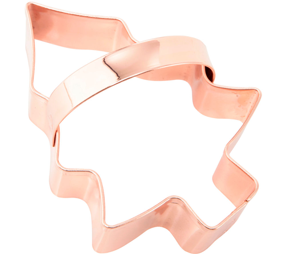 Copper strip cookie cutter