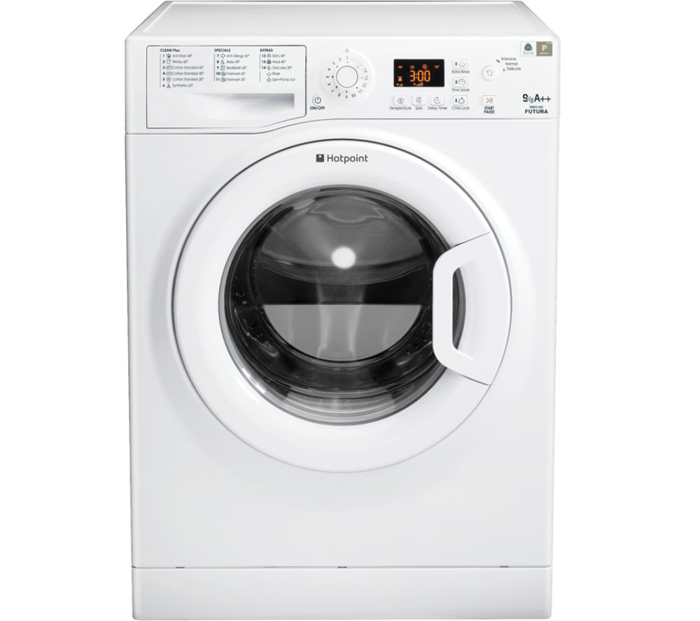 HOTPOINT Futura WMFG942P Washing Machine - White