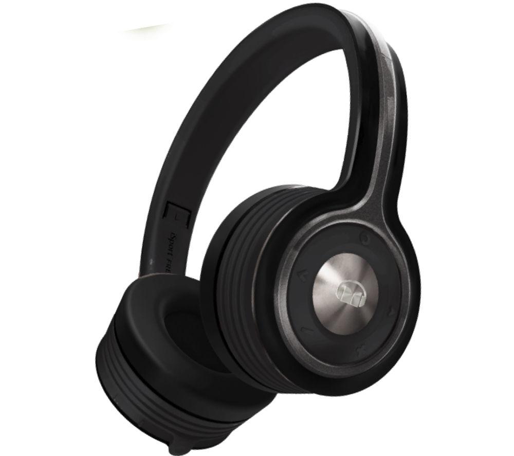 MONSTER iSport Freedom Wireless Bluetooth Headphones - Black