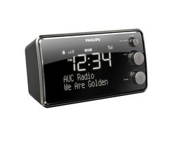 PHILIPS AJB3552/05 DAB Clock Radio - Black